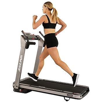 Sunny Health & Fitness Asuna Cinta de Correr eléctrica Plegable ...