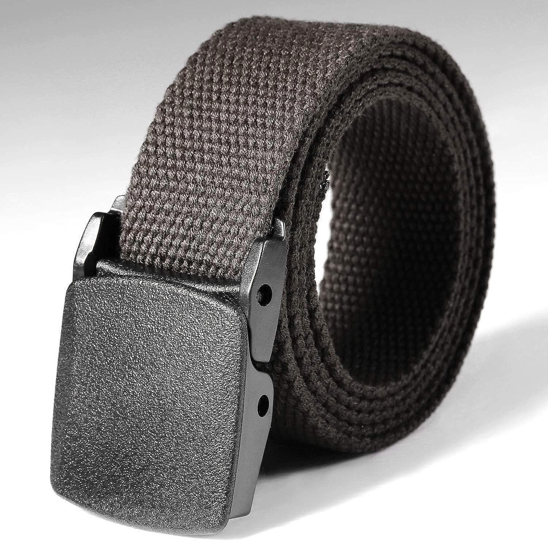 Makalar Outdoor Web Belt,Military Tactical Adjustable Survival Solid Nylon Outdoor Waist Belt Belts
