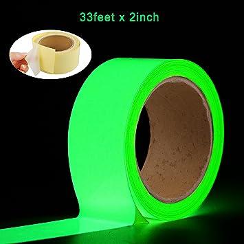 10 mm wide 3 meter long Glow in the Dark Tape