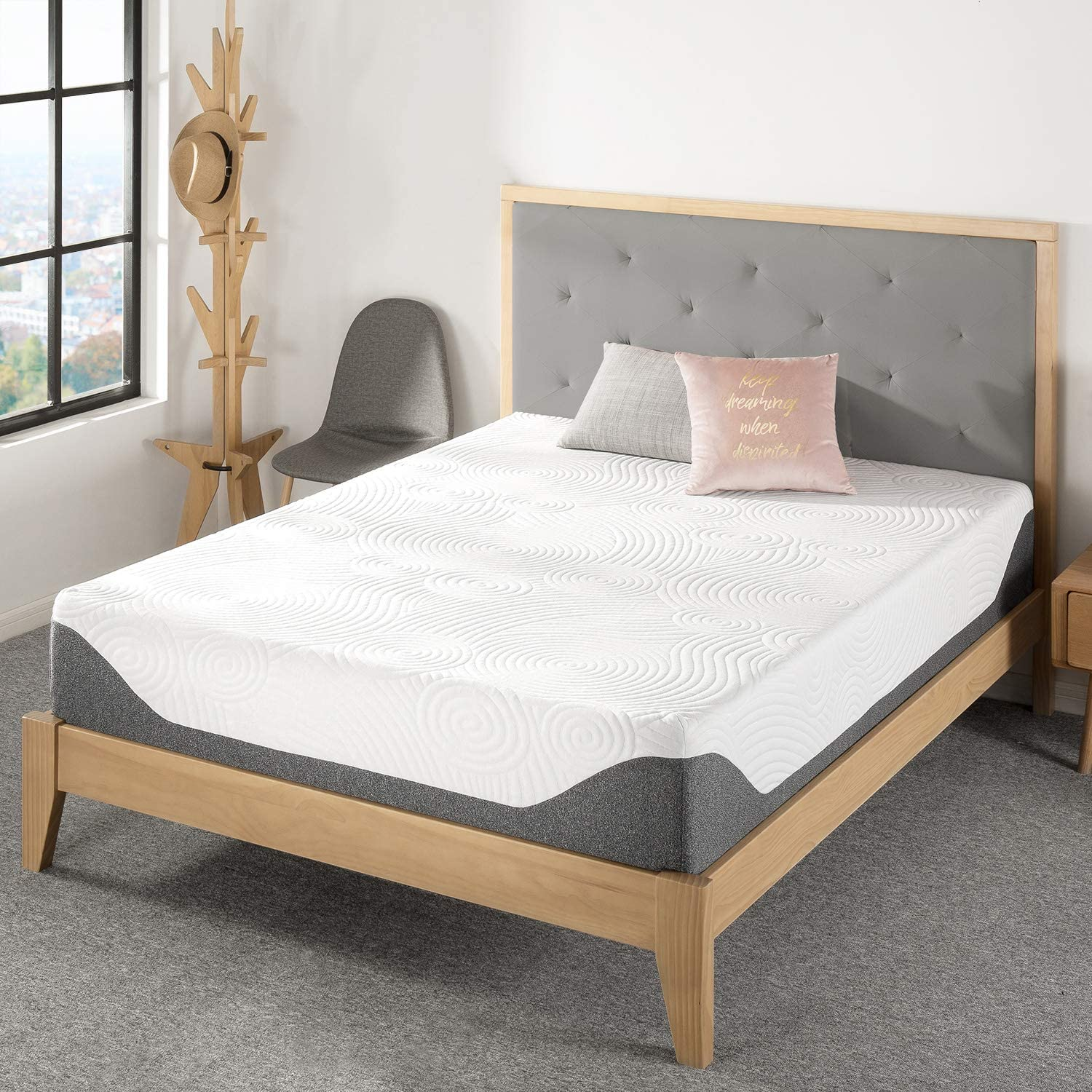 "Best Price Mattress 12"" Premium Memory Foam Mattress, Twin"