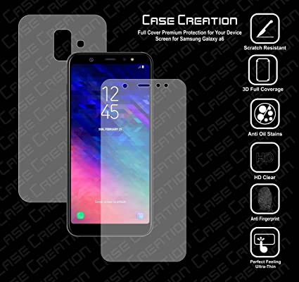 online store 88b38 9d391 Case Creation Nano Screen Protector All Round 360 Skin: Amazon.in ...