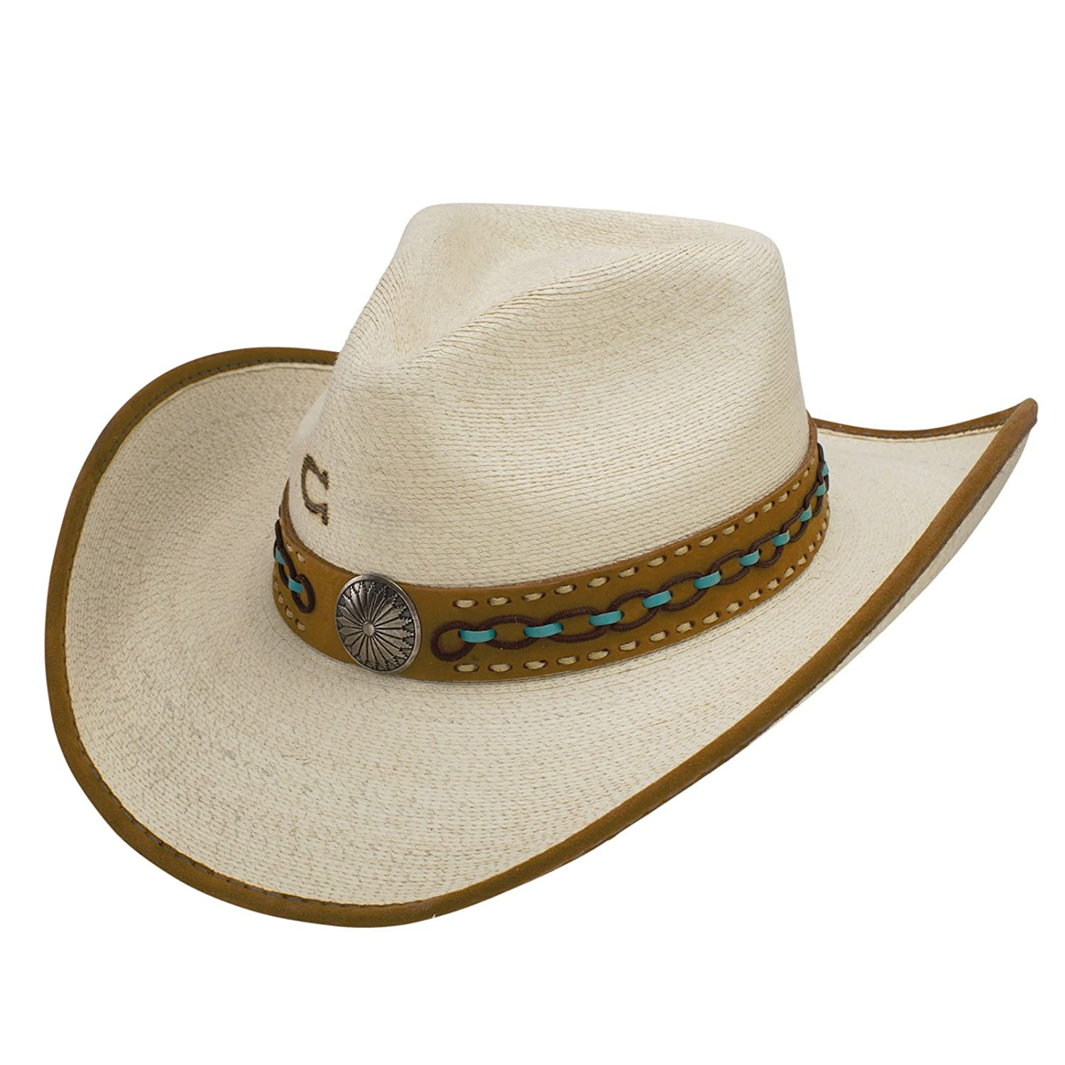 f55b94b5530209 Charlie 1 Horse White Lie Cowboy Hat at Amazon Women's Clothing store: