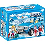Playmobil - 4x4 avec Coffre de Toit, 9281