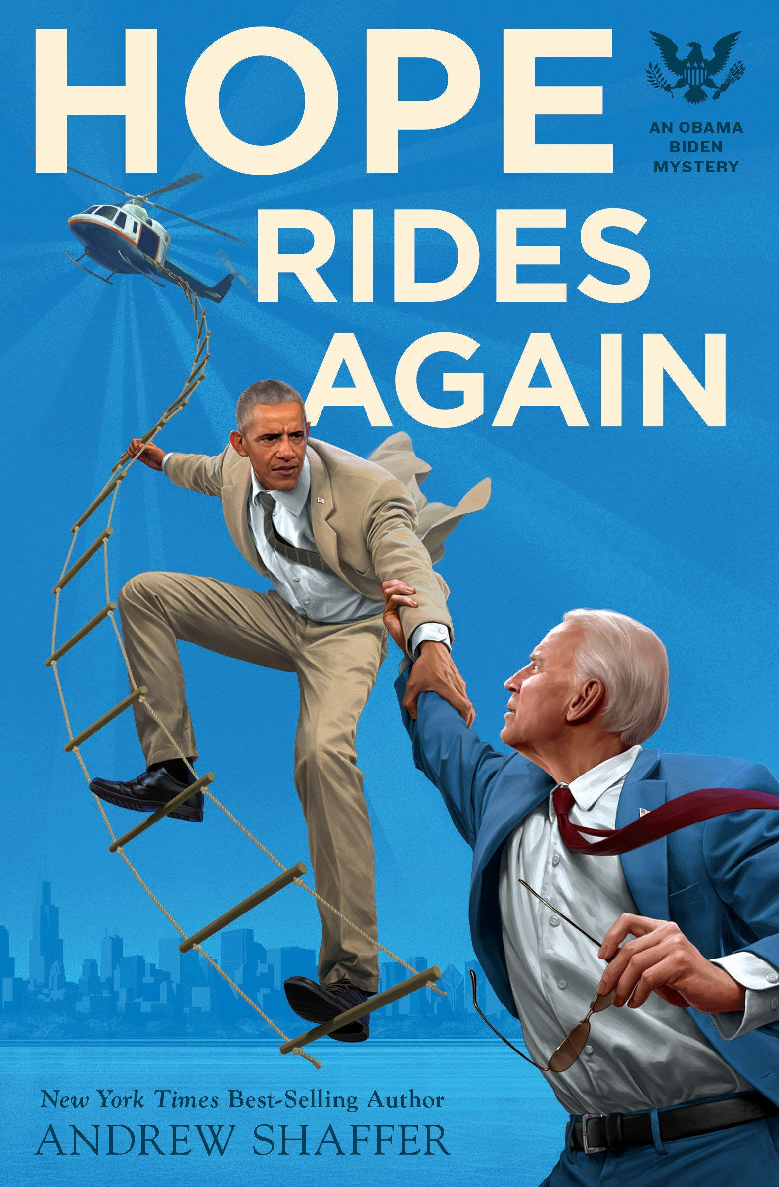 Amazon.com: Hope Rides Again: An Obama Biden Mystery (Obama Biden ...