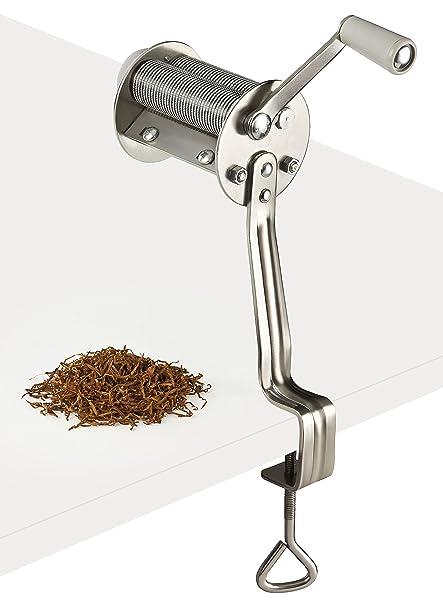 StartUp Cortador de tabaco, 0,8mm, Máquina de corte de hojas de tabaco