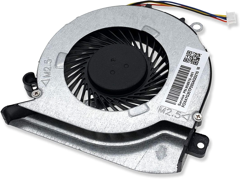 HK-Part Fan for HP Pavilion 15-AB273CA 15T-AB200 15-ABXXX Laptop Cooling Fan 806747-001