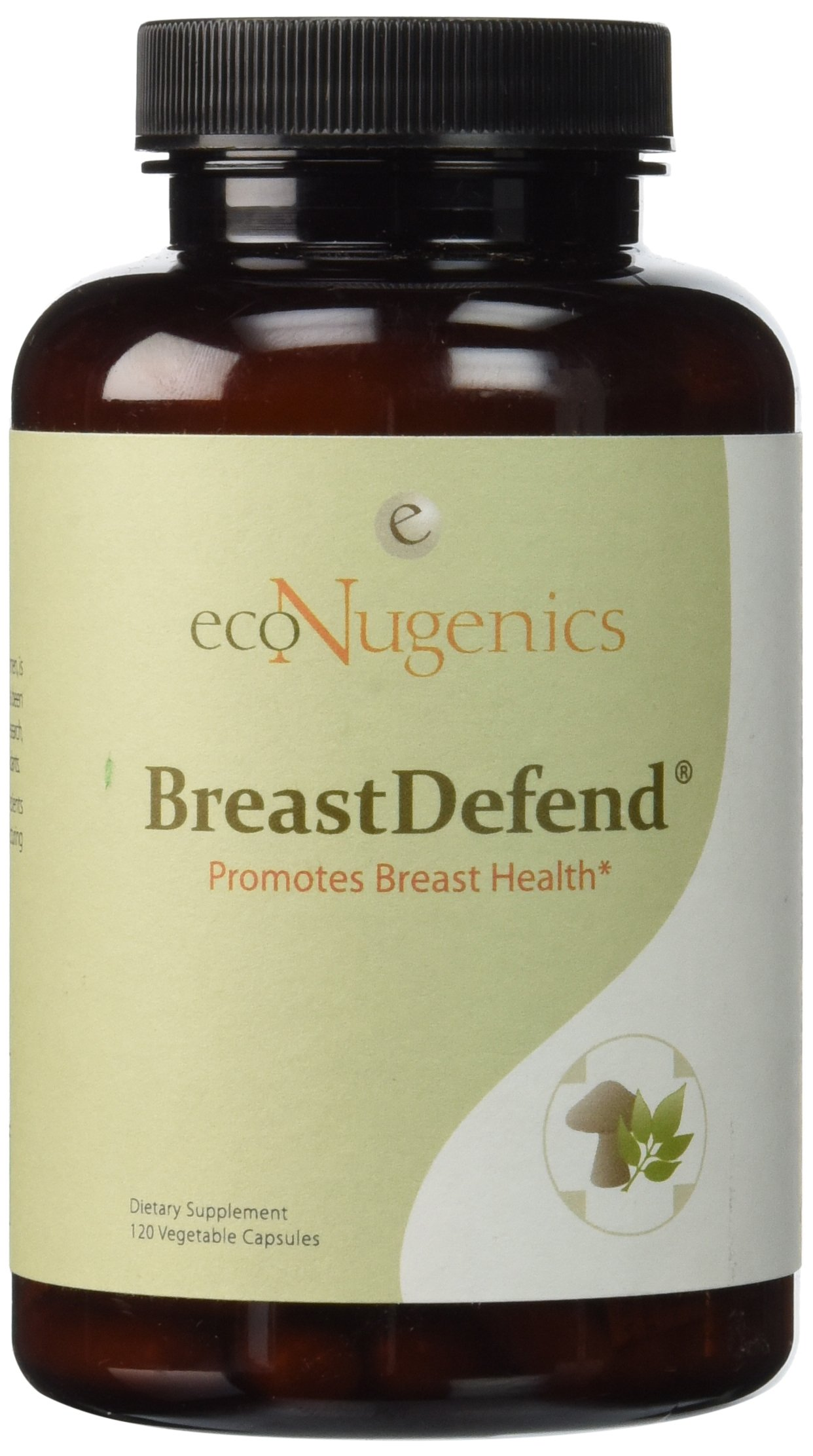 Econugenics Breast Defend Veggie Capsules, 120 Count