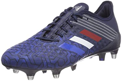 hot sale online b1432 ec494 adidas Men s Predator Malice Control Sg Rugby Shoes, Conavy Blue silvmt, ...