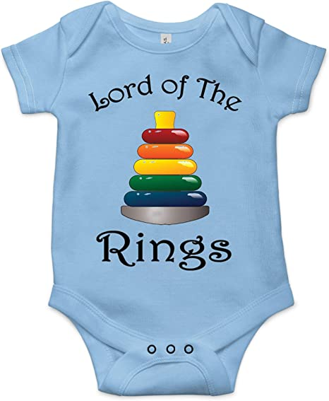 Lord Of The Rings Bodysuit Tree Of Gondor First Baby/'s Birthday Clothes LOTR Outfit Bodysuit with Embroidery. Baby Shower Gift