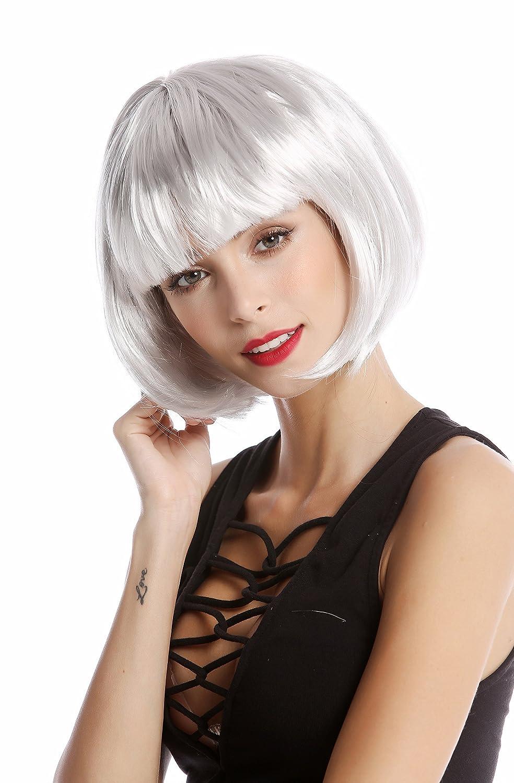 Caschetto Disco Azzuro WIG ME UP /® Bellissimo Parrucca da Party Corta /& Impertinente PW0114-PC40