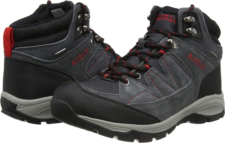 Aigle Vedur Mid Mtd Zapatos de High Rise Senderismo para Hombre