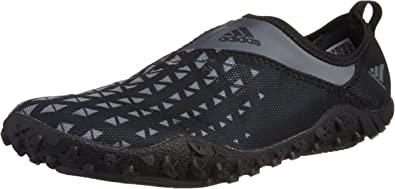 adidas B39895 Men's Kurobe II Water Shoes, Vista Grey/Core Black/Core Black