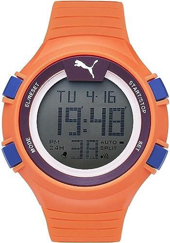 Puma Time PU911281002 - Reloj de Cuarzo para Hombre, Color Negro, Azul y Morado: Amazon.es: Relojes