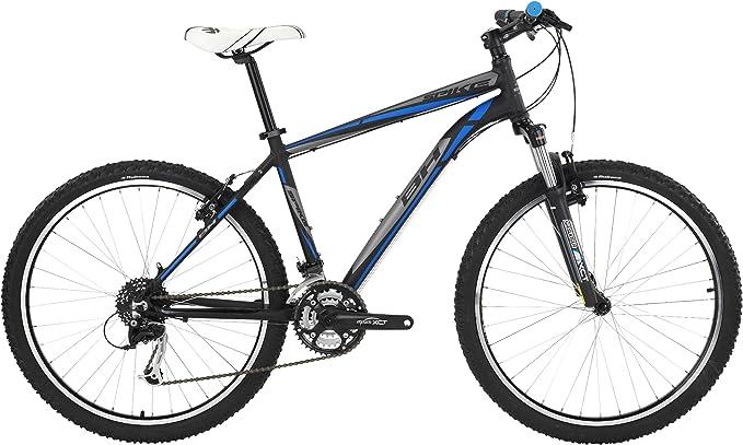 Bici MTB BH Spike 5.5 Negro Azul: Amazon.es: Deportes y aire libre
