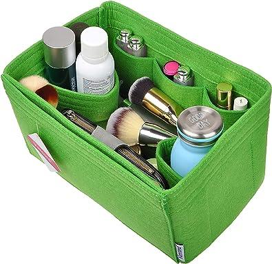 Women Felt Makeup Organiser Bag Travel Handbag Insert Home Tote Purse Liner