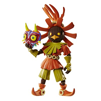 World of Nintendo The Legend of Zelda Skull Kid Action Figure with Mask, 4 Inches: Toys & Games