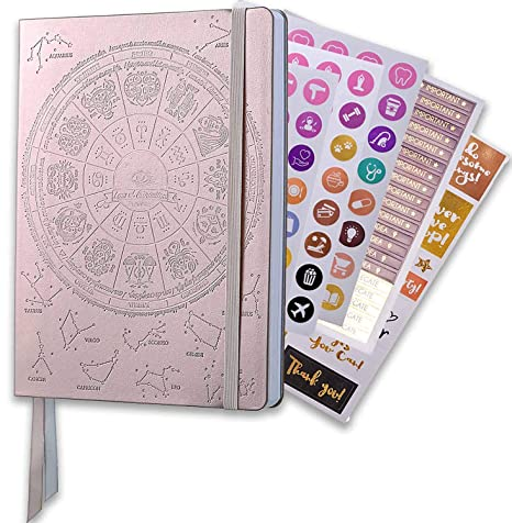 Law of Attraction Academic Planner July 2019- June 2020 - Weekly & Monthly planner to Increase Productivity & Happiness - Personal Journal, Goal ...