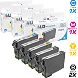 LD © Remanufactured Epson 288 / 288XL / T288 / T288XL Set of 5 High Yield Ink Cartridges (2 Black, 1 Cyan, 1 Magenta, 1 Yellow) for use in Expression XP-330, XP-430, XP-434 & XP-440