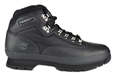 Amazon.com | Timberland Euro Hiker Men's Black Boots | Hiking Boots