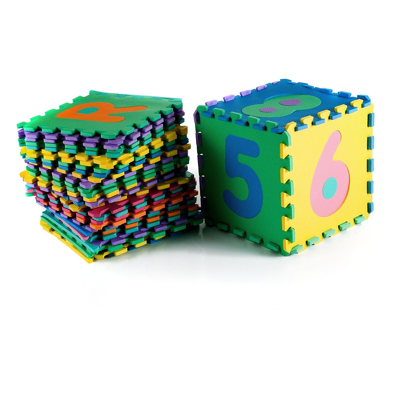 Amazon foam floor alphabet and number puzzle mat for kids 96 amazon foam floor alphabet and number puzzle mat for kids 96 piece toys games dailygadgetfo Images