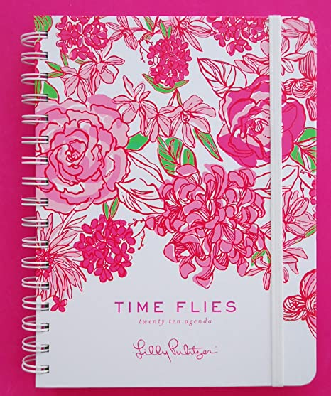 Amazon.com : 2010 Lilly Pulitizer Time Flies Large Datebook ...
