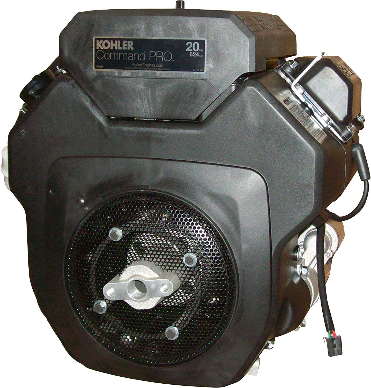 Kohler Command Pro OHV Horizontal Grasshopper Replacement Engine with Electric Start - 674cc, 1 1/8in. x 3 11/32in. Shaft, Model Number PA-CH640-3149