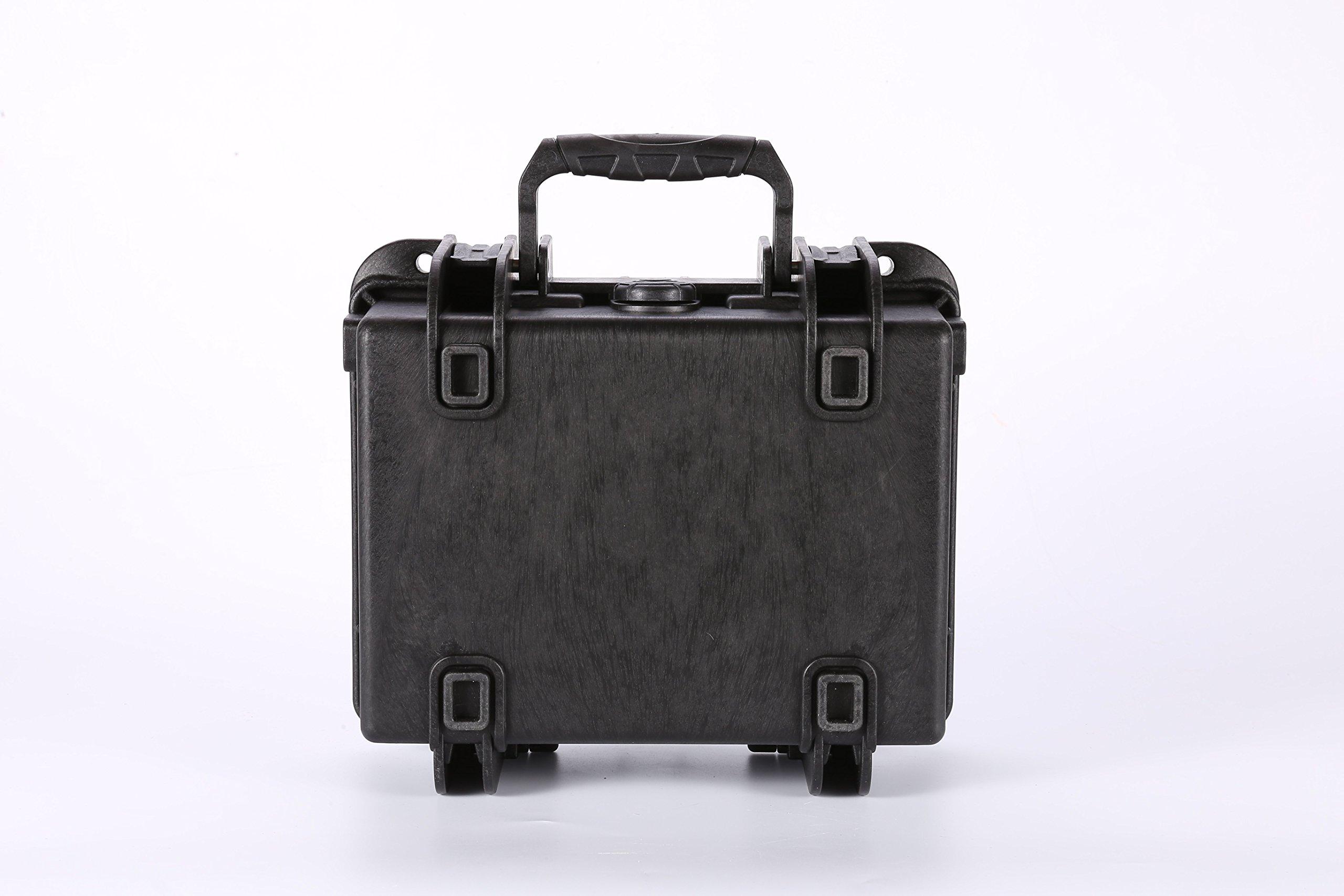CigarPro Cigar Travel Humidor Case, Holds 10 Cigars, Waterproof, Crush Proof