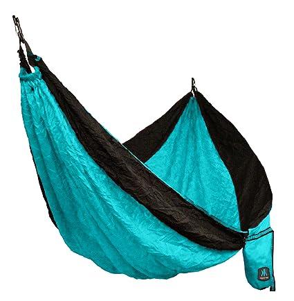 Delightful Kijaro Single Hammock, Ionian Turquoise