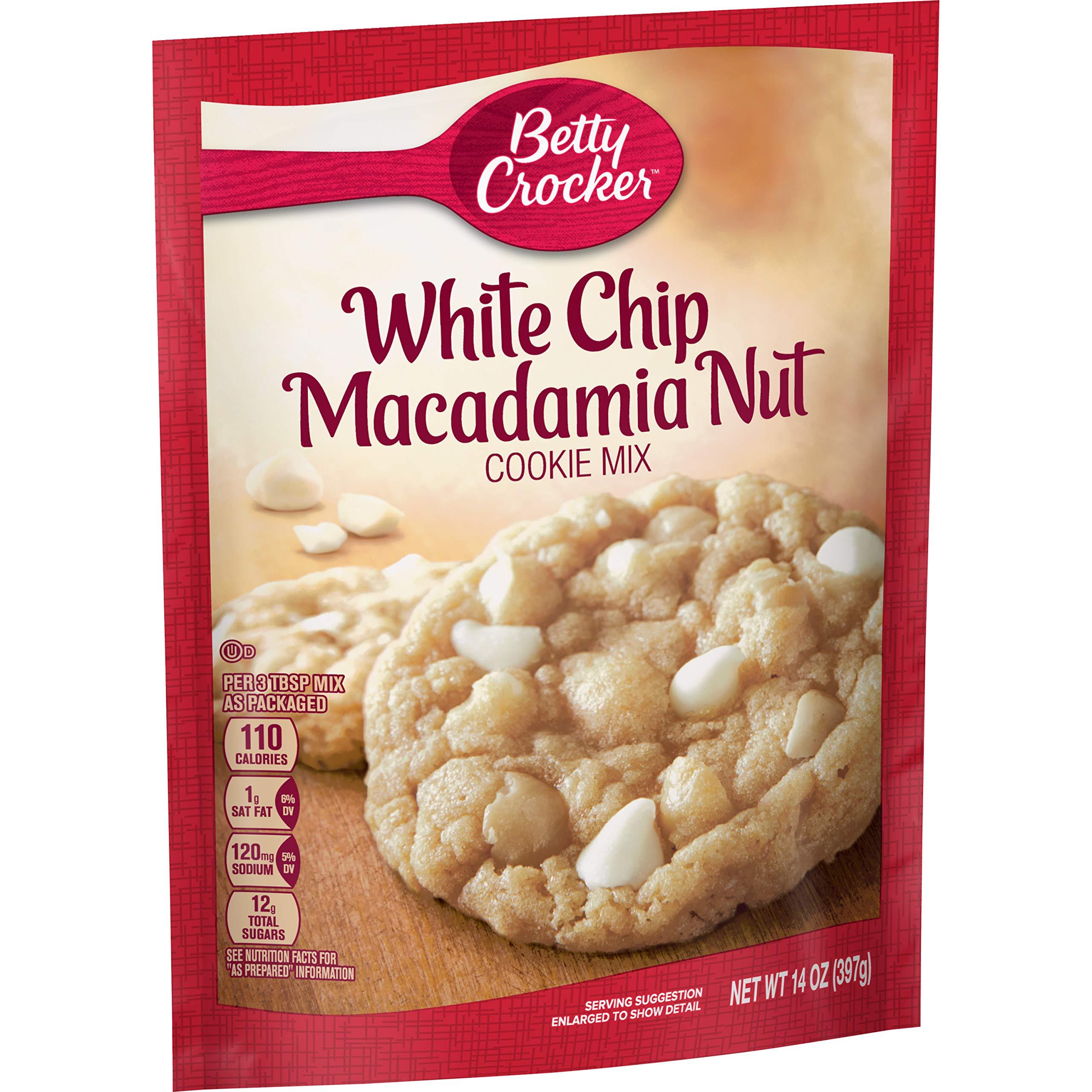 Betty Crocker Cookie Mix White Chip Macadamia Nut 14.0 oz Pouch