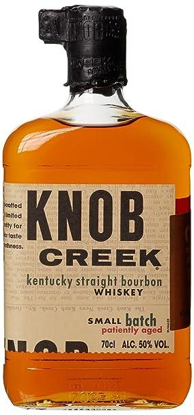 knob creek patiently aged kentucky straight bourbon whiskey 1 x 0 7 l amazon de bier wein spirituosen