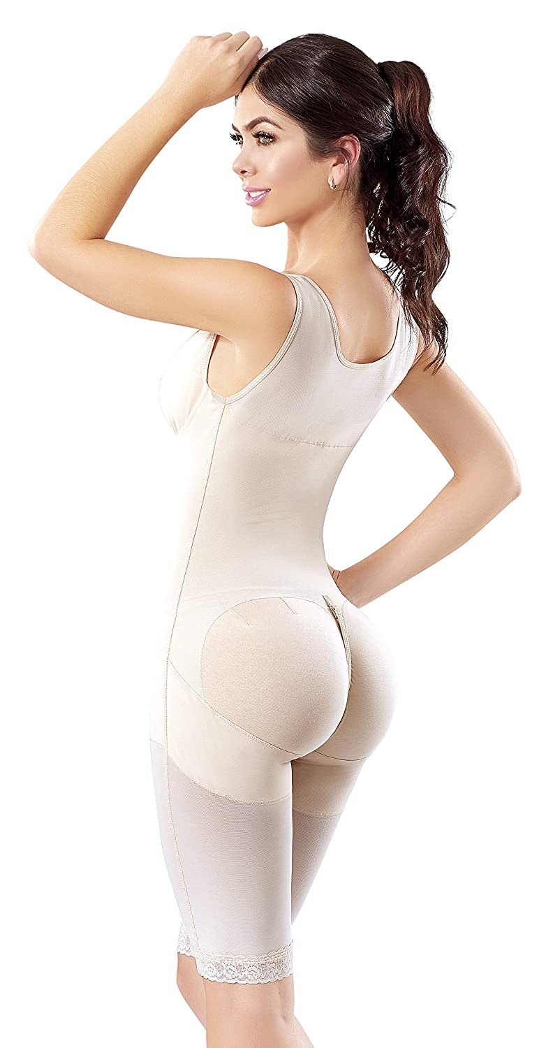 2bbd2a57166 Shape Concept Fajas Colombianas Reductoras y Moldeadoras High Compression  Garments After Liposuction Full Bodysuit SCM0071: Amazon.co.uk: Clothing
