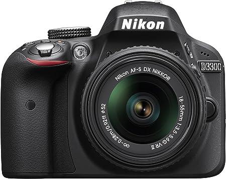 Nikon D3300 + 18-55mm f/3.5-5.6G VR II: Amazon.es: Electrónica