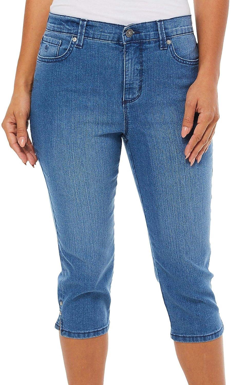 d31f3c27d40 Gloria Vanderbilt Women s Amanda Capri Jeans at Amazon Women s Jeans store