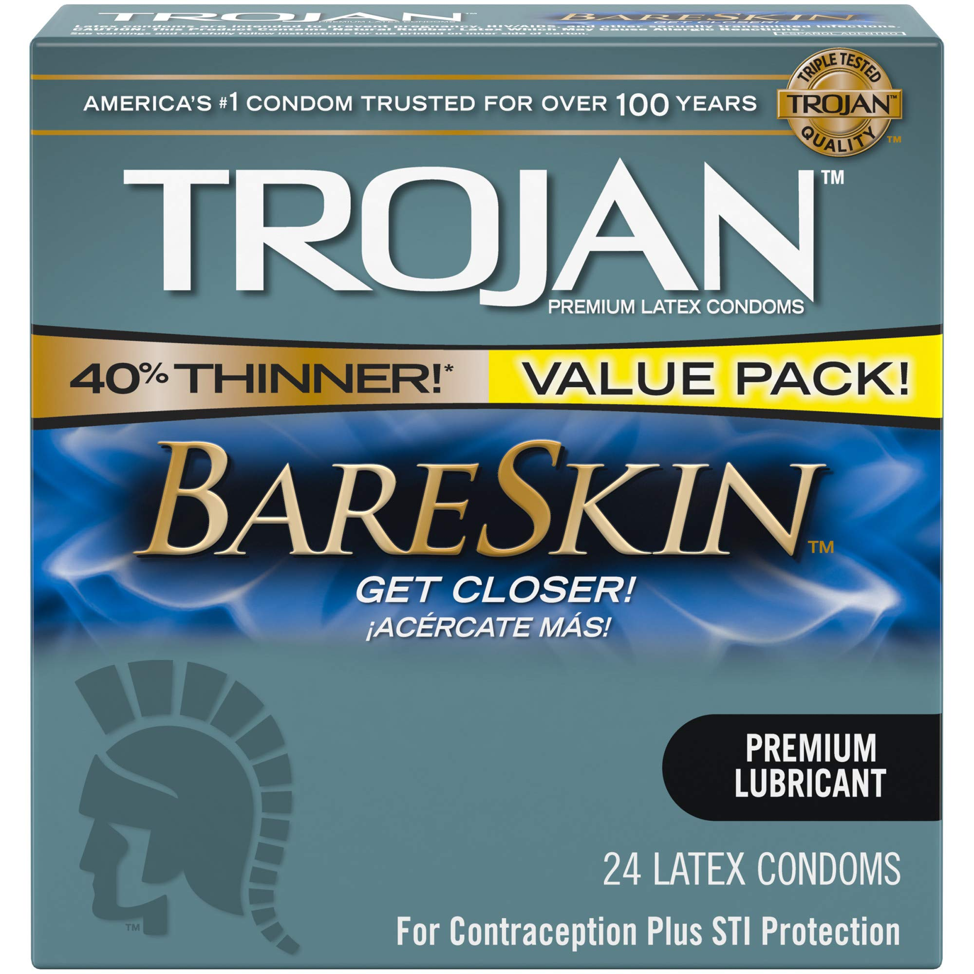 Trojan thick condoms