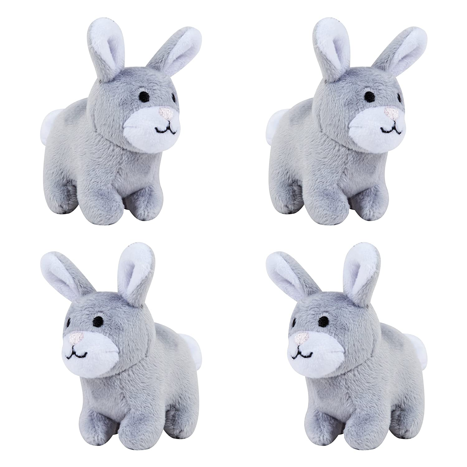 Trend Lab Bunny Musical Mobile Gray//White