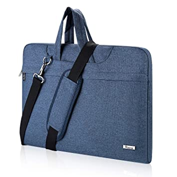 e7cec57ef7a9 Voova Laptop Case 17 17.3 Inch Waterproof Laptop Shoulder Bag Sleeve Slim  Briefcase with Carry Handle Compatible with ...