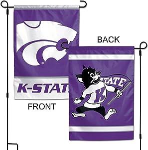 "WinCraft NCAA Kansas State Wildcats 12.5"" x 18"" Inch 2-Sided Garden Flag Logo"