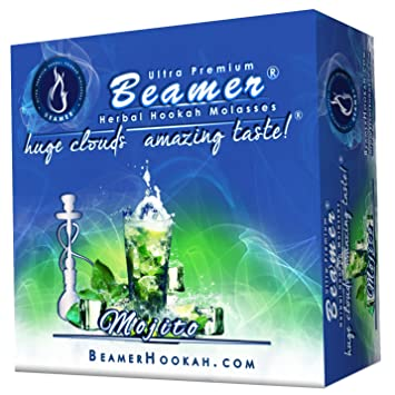 Mojito Beamer® Ultra Premium Hookah Molasses 50 Gram Box. Huge Clouds, Amazing Taste
