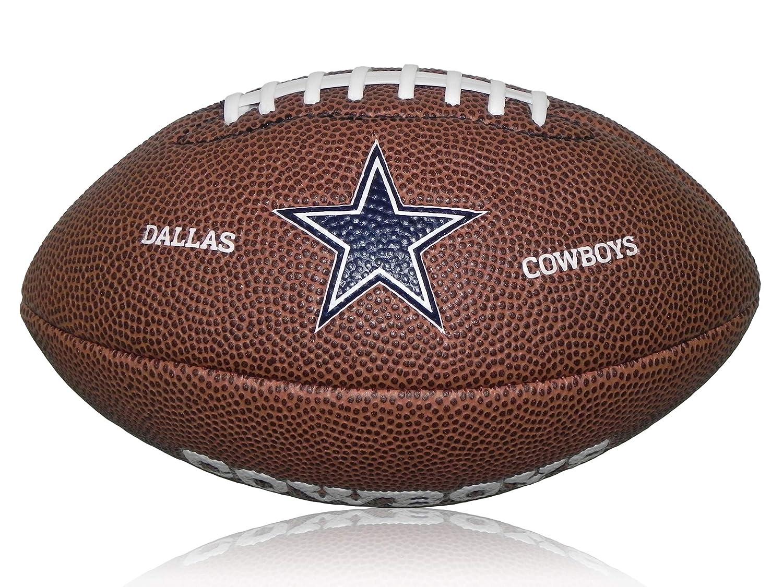 Wilson Football NFL Cowboys Logo Mini - Balón de fútbol Americano ...