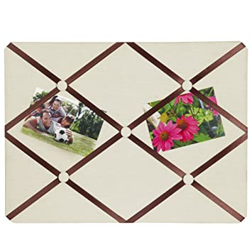 Amazoncom Breeze Point A99509 Fabric Memo Photo Boardbulletin