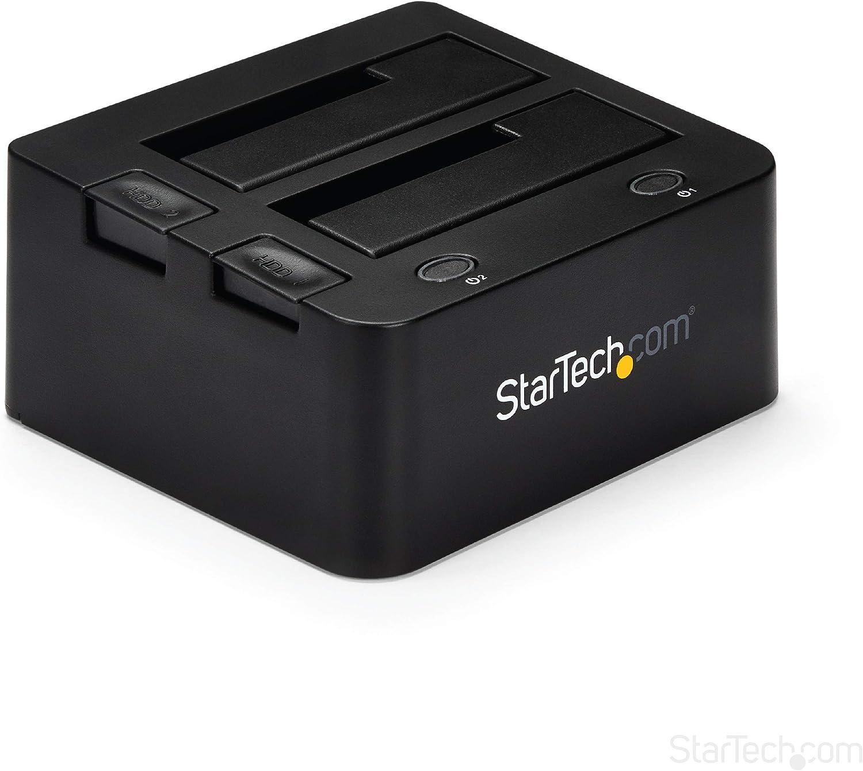 """StarTech.com Docking Station USB 3.0 Super Speed a SATA e IDE para Discos Duros de 2.5"""" y 3.5 Pulgadas - Estación de Acoplamiento (UNIDOCK3U)"""