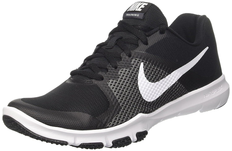 Nike Herren Flex Control Hallenschuhe  42 EU|Schwarz (Black/White/Dk Grey)