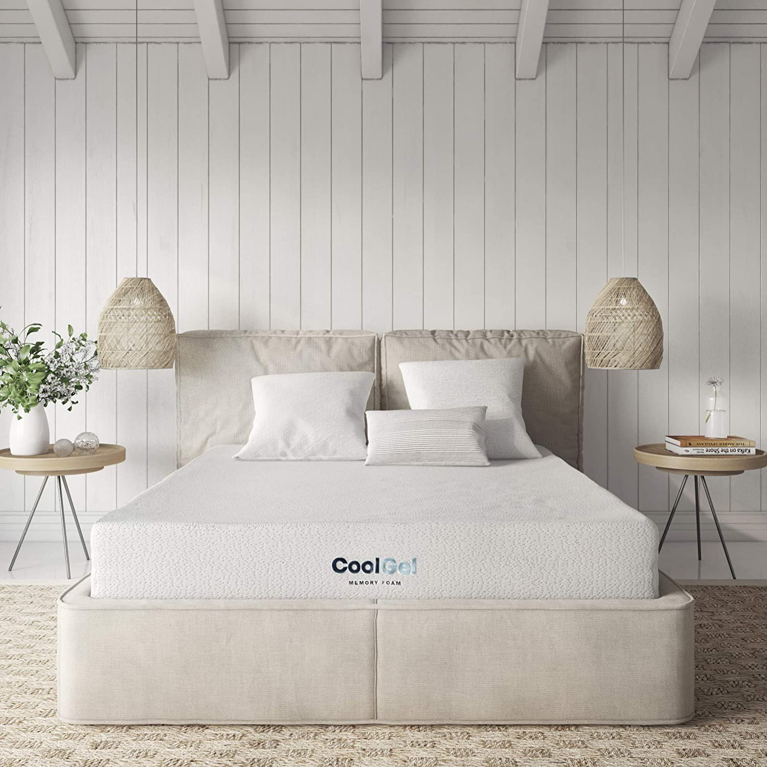 Classic Brands Ventilated Memory Foam Mattress