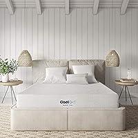 Classic Brands Cool Ventilated Gel Memory Foam 8-Inch Mattress, Twin, White