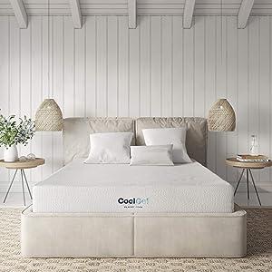 Classic Brands Cool Gel Gel Memory Foam 8-Inch Mattress   CertiPUR-US Certified   Bed-in-a-Box, Full