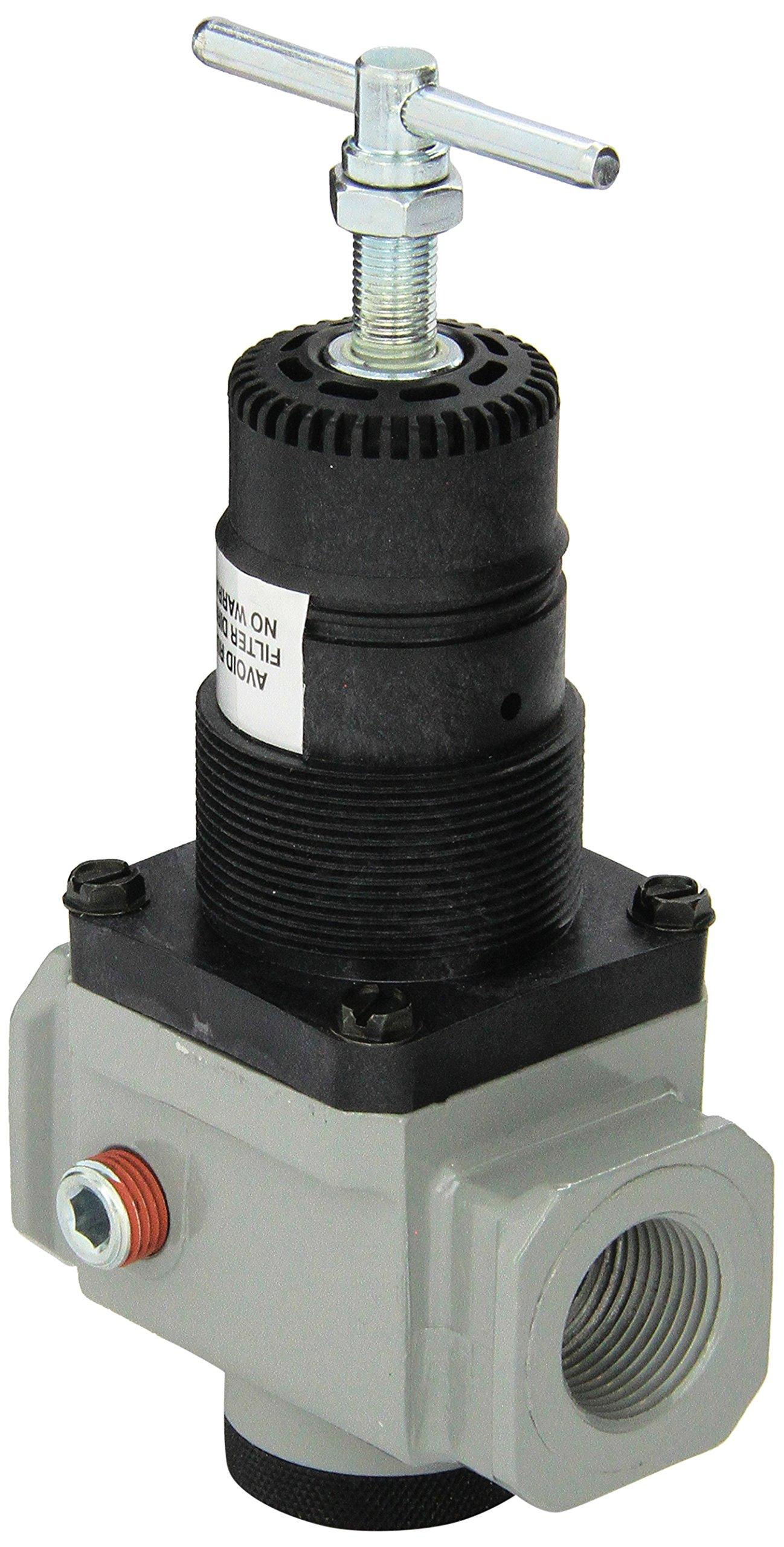 Milton 1026-8 3/4'' NPT High Pressure FRL Regulator