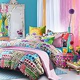 Amazon Com Amy Butler Dancing Garden Comforter And Sham