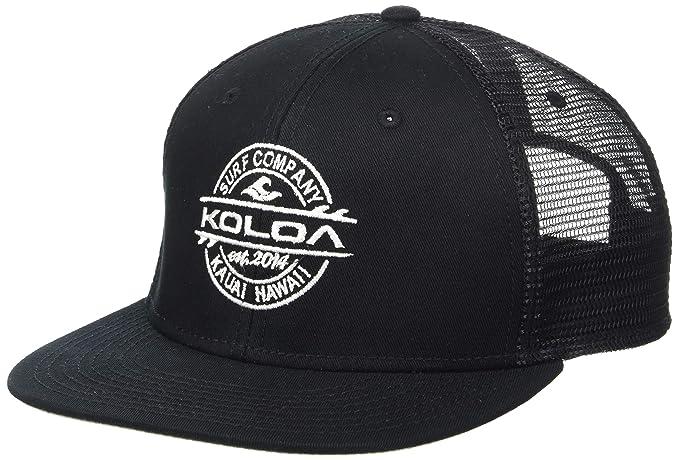 2b151859e6d Joe s USA Koloa Surf(tm) Thruster Logo Mesh Back Trucker Hat in Black with
