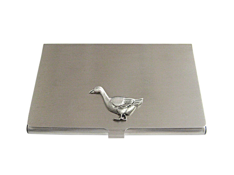 詳細なGoose Birdビジネスカードホルダー   B01ISD1WKM