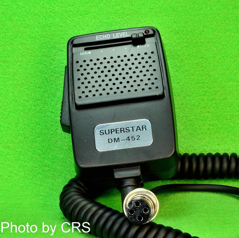 Cb Radio Echo Power Mic Microphone With 4 Pin Plug Workman Dm452 Mics Wiring
